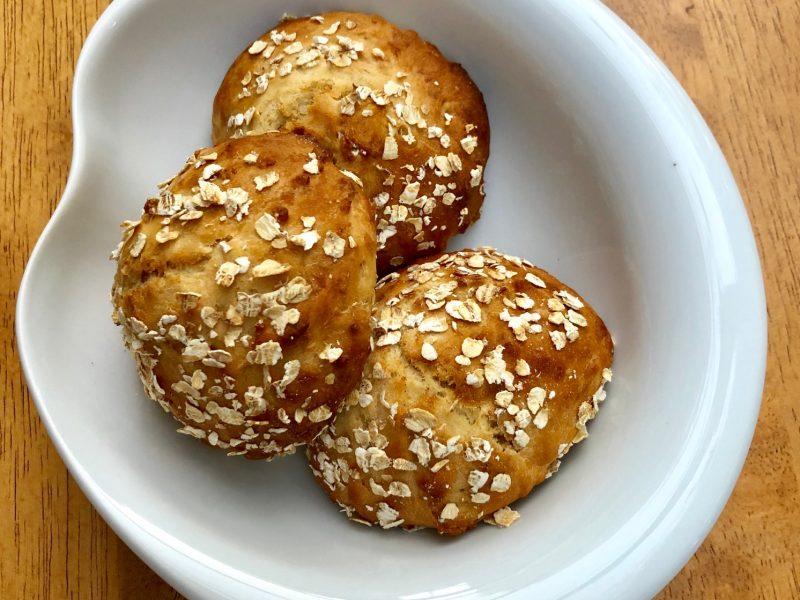 Oatmeal and honey rolls