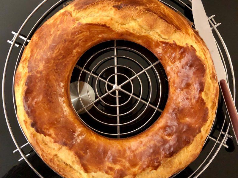 Pogne de Romans (Orange blossom water French bread)