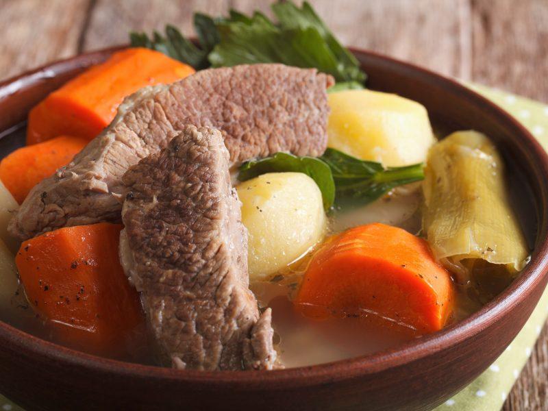 French pot-au-feu (Beef Stew)