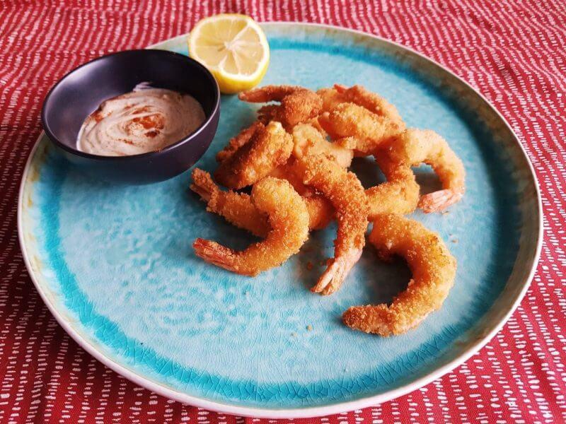 Fried schrimps