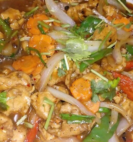 Sweet and sour sauce chicken