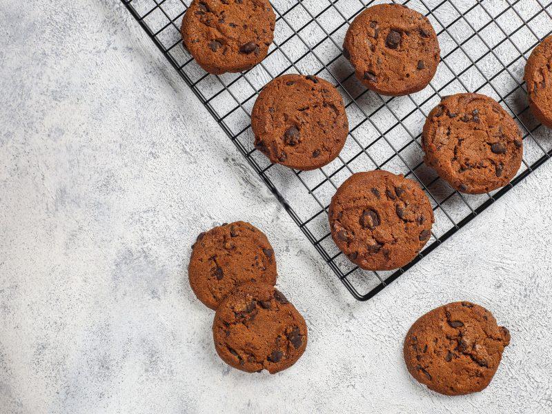 Cookies protéinés au chocolat whey