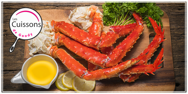 Temps de cuisson pince de crabe fraîche